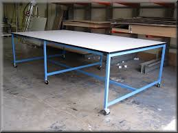 rdm workbench a 109pclg flat top table w center legs