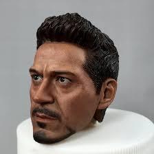 Tony Stark 1 6 Scale Tony Stark Headsculpt Im Cht 047 Ultimate Toys