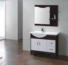 Real Wood Vanities Wood Bathroom Cabinet Fm S8059 China Solid Wood Bathroom Cabinet