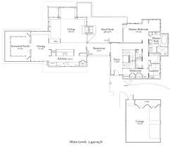 Bi Level Floor Plans With Attached Garage by Craftsman Style House Plan 4 Beds 4 50 Baths 5892 Sq Ft Plan 454 14