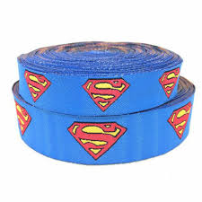 superman ribbon zerzeemooy wholesale 5 8 7 8 16mm 22mm 10yards lots polyester