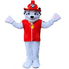 amazon patrol marshall dog mascot costume cartoon sports