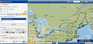 map usa route planner this powerful mapping tool lets you plot the weather along a road trip