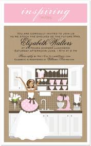 Bridal Shower Invitations Cards Pink Stock The Shelves Kitchen Bridal Shower Invitation