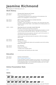 Resume Community Service Example by Janitor Resume Samples Visualcv Resume Samples Database