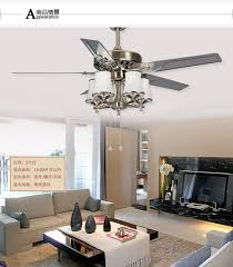 48 Inch Ceiling Fan With Light 48inch Leaves Large Wind Powered Fan Light Living Room L Modern