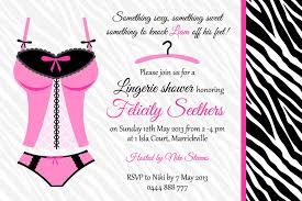 lingerie shower invitation ideas bridal shower invitation