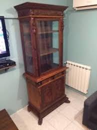 credenza antica mobile credenza antica con vetrina in legno bambocci e ze di