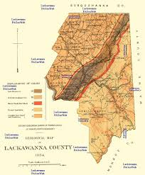 Map Of Counties In Pa Lackawanna County Pa Maps