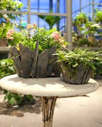 How To Make Planters by How To Make Stone Planters Martha Stewart