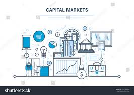 capital markets trading online banking ecommerce stock vector