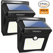Motion Sensors For Lights Outdoor Neloodony Motion Sensor Solar Lights Outdoor