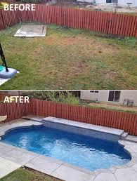 Backyard Renovations Before And After Backyard Before And After Pictures Part 27 Corner Before
