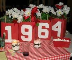 Centerpieces For Family Reunions Table by Class Reunion Table Decorations Reunion Ideas Pinterest