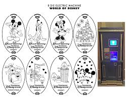 shanghai disney resort pressed coin guide