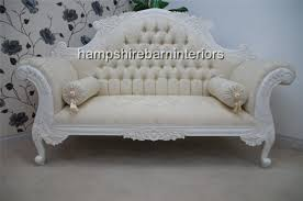 White Chaise Lounge Double End Chaise Lounge Sofa Best Home Furniture Decoration