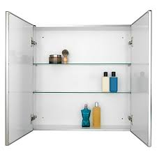 buy john lewis double mirrored bathroom cabinet john lewis