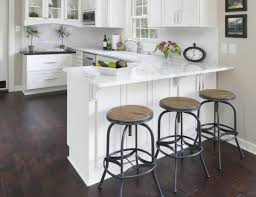 bar height kitchen base cabinets no room for a kitchen island add a peninsula to your