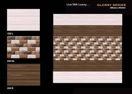Wall Tiles Design For Living Room Latest Gallery Photo - Living room wall tiles design