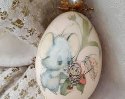 Easter Decorations Malta by Vintage Easter Decor Etsy