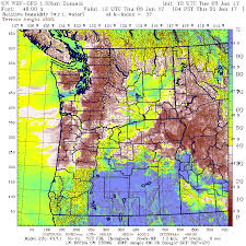 Seattle Weather Map by Cliff Mass Weather And Climate Blog Dry Air Storm Hits The