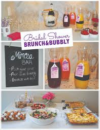 brunch bridal shower brunch bubbly bridal shower menu kari designs