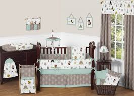 Baby Boy Nursery Bedding Sets Bed Infant Crib Sets Grey Baby Crib Bedding Baby Boy Bumper Sets