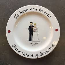 personalized ceramic wedding plates 30 best wedding anniversary gift images on wedding
