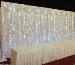 wedding backdrop curtains for sale 3x6m fairylight economy wedding backdrop package for sale economy