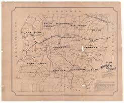 Nc State Map Faulkner U0027s Of Sandy Creek Map Of Warren County N C Published