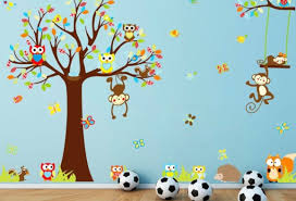 mural awesome wall murals for kids cool vinyl wall art decal