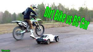 gas gas motocross bikes dirt bike vs rc car youtube