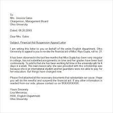 business appeal letter sample the letter sample