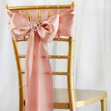 chair ribbons efavormart 5pcs mauve satin chair sashes tie bows catering wedding