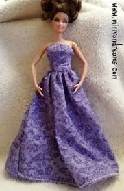 barbie ballgown tutorial craftiness optional girls