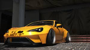subaru brz rocket bunny v3 release vehicle toyota gt86 super tuning gta5 mods com forums
