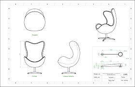 Blueprints Free by Egg Chair Blueprints Mindwise