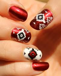 native american inspired nail art polish procrastination musings