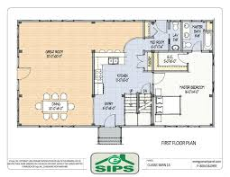 open floor house plans efficient open floor house plans concept kitchen planssmall small