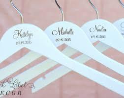 white bridal hanger etsy