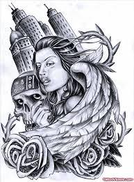 clown u0026 skull tattoo design tattoo viewer com