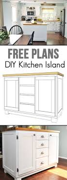 diy kitchen island plans easy building plans build a diy kitchen island with free building