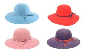 wide brim felt floppy hats wholesale los angeles fashion wholesaler