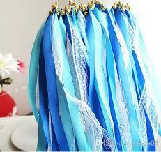 ribbon streamers newest lace satin ribbon wand streamers wedding wish magic wands