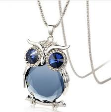 necklace owl images Owl love you quot necklace cute animals club jpg