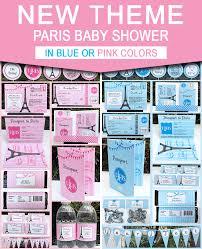 paris baby shower theme printables simonemadeit com
