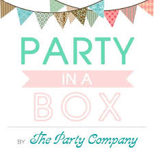 party in a box diy from the party company s party in a box absolutely