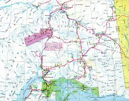 Juno Alaska Map by Interstate Guide Alaska Interstates