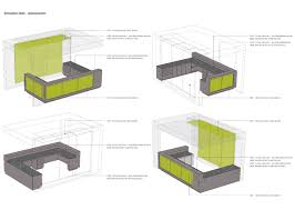 Desk Plans by Modern Reception Desk Plan With Large Furniture And Mainboard