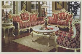 French Provincial Sofa by Provincial Sofa Collection 609 Baroque Sofas